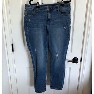 Old Navy Rockstar Jeans Mid Rise